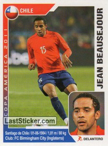 Jean Beausejour (Chile)