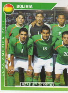 Bolivia - 1 (team sticker - puzzle) (Grupo A)