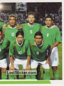 Bolivia - 2 (team sticker - puzzle) (Grupo A)
