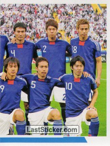 Japon - 2 (team sticker - puzzle) (Grupo A)
