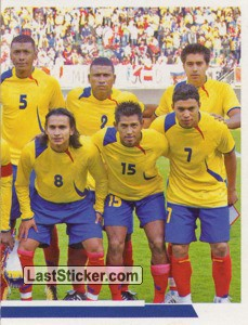 Ecuador - 2 (team sticker - puzzle) (Grupo B)