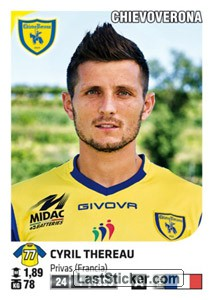 Cyril Thereau (ChievoVerona)