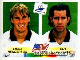 Chris Henderson / Roy Wegerle (USA)