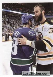 Stanley Cup Finals (puzzle 1) (Boston Bruins / Vancouver Canucks)