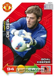 David de Gea (Goalkeeper)