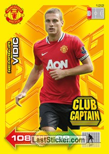 Nemanja Vidic (Club Captain)