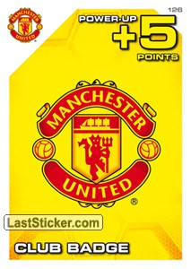 Manchester United, Club Badge (Power-Up)