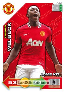 Danny Wellbeck (Home Kit)