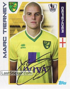Marc Tierney (Norwich City)
