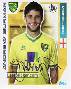 Andrew Surman (Norwich City)