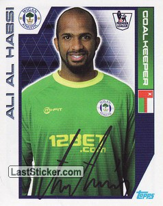 Ali Al Habsi (Wigan Athletic)