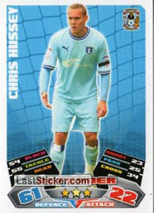 Chris Hussey (Coventry City)