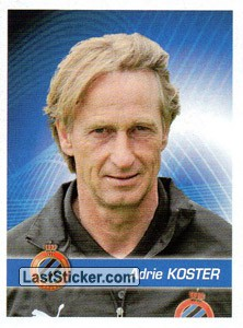 Entraineur Adrie Koster (Club Brugge)