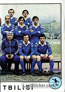 Dinamo Tbilisi (right half) (soccer)