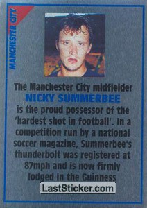 Nicky Summerbee (note) (Manchester City)