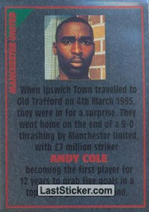 Andy Cole (note) (Manchester United)