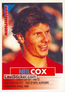 Neil Cox (Middlesbrough)