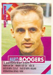 Marco Boogers (West Ham United)
