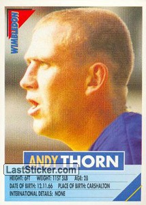 Andy Thorn (Wimbledon)