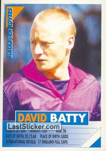 David Batty (Blackburn Rovers)