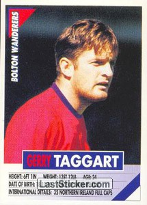Gerry Taggart (Bolton Wanderers)