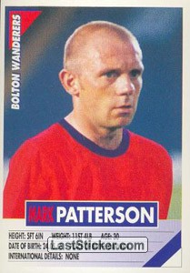 Mark Patterson (Bolton Wanderers)