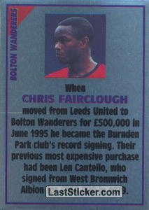 Chris Fairclough (note) (Bolton Wanderers)