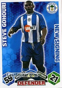 Steve Gohouri (Wigan Athletic)