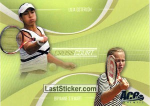 Lilia Osterloh / Brianne Stewart (Cross Court)
