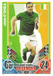 John O' Shea (Republic Of Ireland)