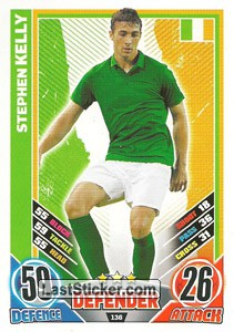 Stephen Kelly (Republic Of Ireland)