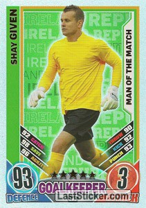 Shay Given (Republic Of Ireland)