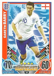 Gareth Barry (England)