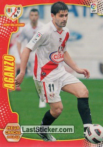Aganzo (Rayo Vallecano)
