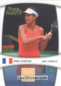 Ana Ivanovic - 2008 French Open (Top Loaders)