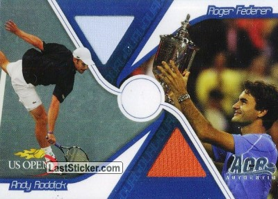 Roger Federer & Andy Roddick (Dual Cards)