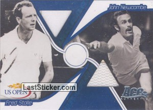 John Newcombe & Fred Stolle (Dual Cards)