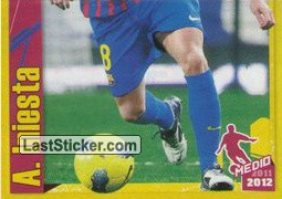 A. Iniesta in action (2 of 2) (A. Iniesta)