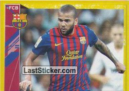 Dani Alves in action (1 of 2) (Dani Alves)