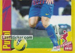 Puyol in action (2 of 2) (Puyol)