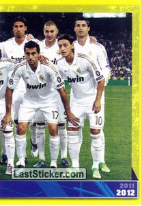 Plantilla (puzzle 2) (Real Madrid 2011-12)