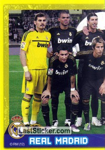 Plantilla (puzzle 1) (Real Madrid 2011-12)